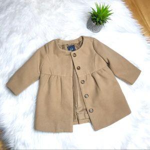 Gap Baby Toddler Camel Trench Coat
